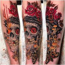 forearm skull tattoos 90 best skull tattoo design pictures and meaning