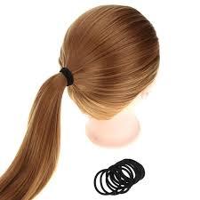 hair elastics women girl hair ring hollow hair rope tie hair elastics bands