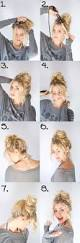 quick and easy updos for thin hair hairstyles ideas