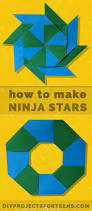 how to make origami ninja stars diy projects for teens