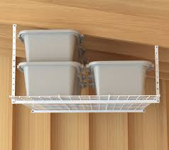 Garage Ceiling Storage Systems by Garage Overhead Storage Racks Most Widely Used Home Design