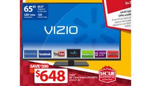 best black friday deals vizio m series 65 inch vizio d650i b2 1080p 120hz led smart tv walmart black