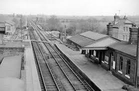 Bletchington railway station