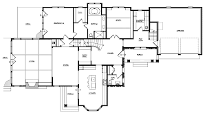 cape cod style floor plans floor cape cod plans 1950 1940s modern house split bedroom six with