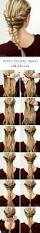 Easy Hairstyle Tutorials For Long Hair by Ombre Hair Color Trends Is The Silver Grannyhair Style Braid