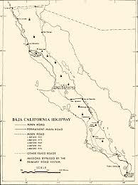 Map Of Tijuana Mexico by History Of The Baja California Highway