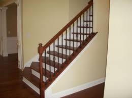 Spindle Staircase Ideas Wood And Rod Iron Stair Home Renovations Other Home