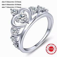 silver rings women images Genuine crown 925 sterling silver rings designer brand rings for jpg