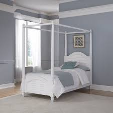 Twin Size Canopy Bed Frame Amazon Com Home Styles Model 5542 510 Bermuda Canopy Bed Queen