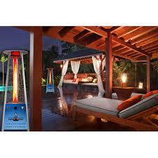 Flame Patio Heater Lava Heat Triangular Commercial Flame Led 42 000 Btu Patio Heater