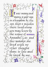 annabel lee by edgar allan poe annabel lee maryanne grebenstein edgar allan poe book artist