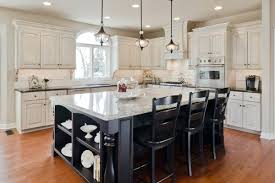 white kitchen cabinets with black island white cabinets black island wiredmonk me