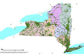 map of state of ny interactive map of stormwater information in new york state