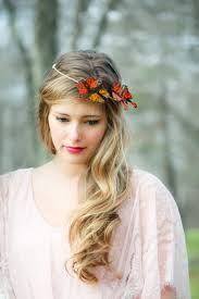 butterfly hair gold and monarch butterfly hair crown butterfly hair crown on