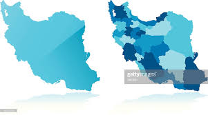 map vector iran map vector getty images
