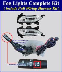 Fog Light Kits 2012 2014 Hyundai Sonata Fog Light Lamp Complete Kit Wiring