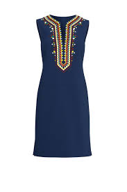 Tory Burch Plus Size Clothing Embroidered Sophia Shift Dress By Tory Burch For 90 Rent The Runway