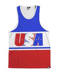 Flag Clothing Patriotic Clothing American Flag Tank Tops American Flag
