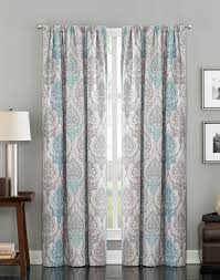 Blue Ikat Curtain Panels Rugs Curtains Gray And Blue Panel Blackout Ikat Curtains