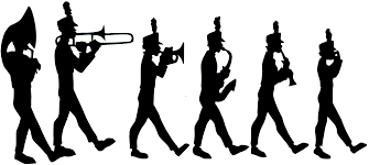 the sound wave marching band