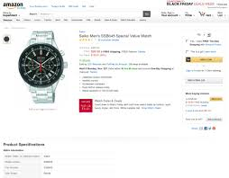 amazon black friday specials on seiko mens watches recommendation request speedmaster pro style chronographs watches