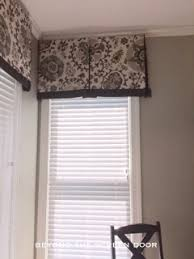 Curtain Box Valance Valances 4 Different Styles In Aqua Turquoise Brown And Or