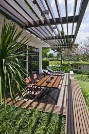 tonnelle en bambou pergola design aménagement de jardin en 60 exemples