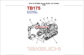 takeuchi tb175 wiring diagram takeuchi 175 specifications u2022 sewacar co