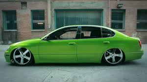1998 lexus gs300 sedan lexus gs300 custom viper green youtube