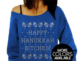 happy hanukkah sweater hanukkah sweater etsy