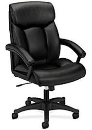 amazon com basyx by hon executive task chair high back leather