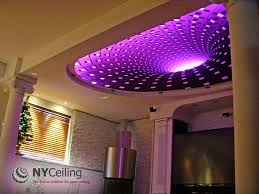Led Lights In Ceiling Nyceiling Inc Portfolio Living Room Fabric Seamless Stretch