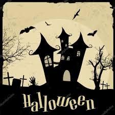 Vintage Halloween Graphics by Vintage Halloween Poster U2014 Stock Vector Roxanabalint 55633323