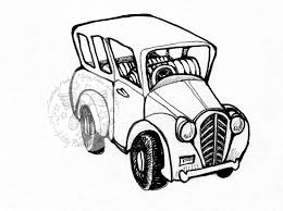 vintage cars drawings flying shoes art studio camping in the outback stamp series
