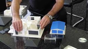 3d Home Kit Design Works by 3d Printed Model House Youtube