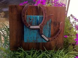 horseshoe wedding gift western decor wedding gift personalized cowboy horseshoe