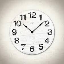 Decorative Clock Cozy Large White Wall Clock 44 White Wall Clocks Uk Cream White