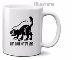 Meme Honey Badger - meme honey badger collectors mug cup ceramic 330ml 11oz ebay