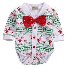 newborn baby girl boy snowflake coat romper playsuit