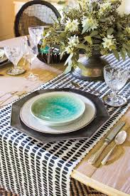 Holiday Table Runners by Christmas Table Setting Southern Living