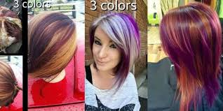 short cut tri color hair hot new hair coloring technique pinwheel color the haircut web