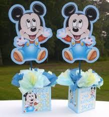 baby mickey mouse centerpieces centerpieces u0026 bracelet ideas