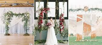 Wedding Ceremony Arch 23 Stunning Wedding Ceremony Arches And Backdrops Wedding Blog