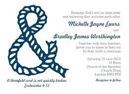 wedding invitation verses ideas christian wedding invitation verses for threefold cord