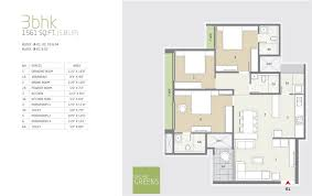 Antilla Floor Plan by Goyal And Co Orchid Greens In Kannur Bangalore Project Overview