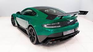 green aston martin convertible this is the only aston martin vantage gt12 in viridian green