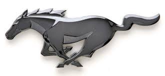 black mustang horse horse logo