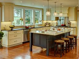 kitchen gorgeous rustic island with white cabinet stone design