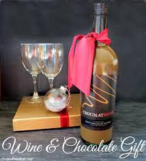 Chocolate Shop Wine Wine Bottle Gift Exchange Idea Chocolatrouge