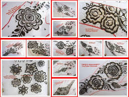 lovely gulf style floral henna mehndi designs for hands with video
